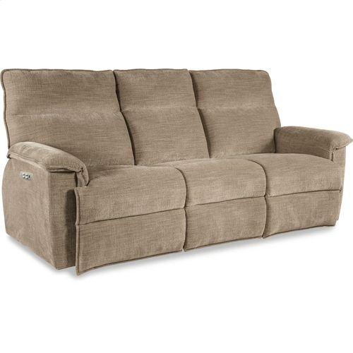 Jay PowerRecline La-Z-Time® Full Reclining Sofa w/ Power Headrest