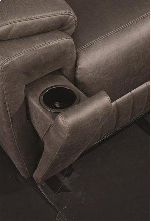 Power Headrest Wallhugger w/ Arm Cupholders