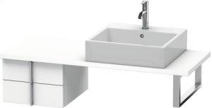 Vero Low Cabinet For Console Compact, White Matt