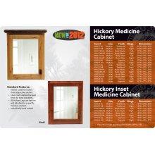 Hickory Medicine Cabinet