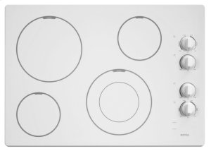 30-inch Wide Electric Cooktop with Speed Heat Element Product Image