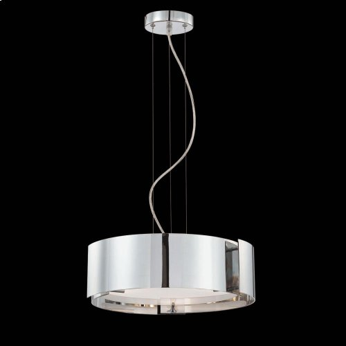 3-LIGHT PENDANT - Satin Nickel