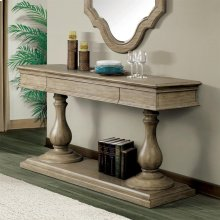 Corinne - Pedestal Server Top - Sun-drenched Acacia Finish