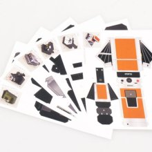Classic Do-It-Yourself Paper Model Camera Kit by Impossible