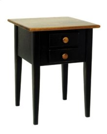 "#265 Wrightsville End Table 19""wx19""dx25""h"