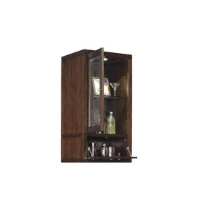 The Wesleyan upper storage cabinet features a flip-down barrister door that...