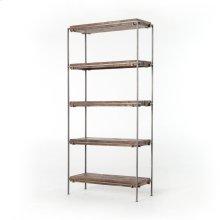 Simien Bookshelf-gunmetal