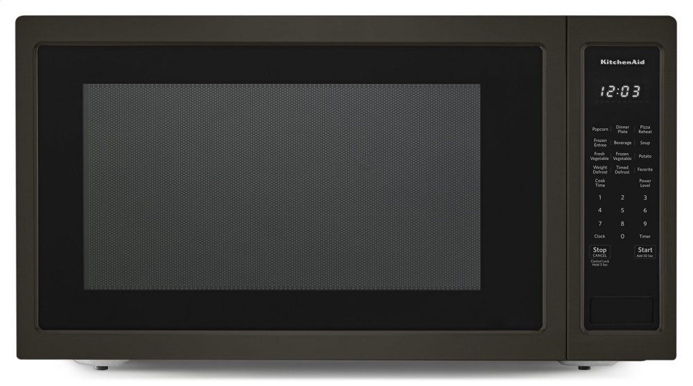Kmcs3022gbs Kitchenaid 24 Quot Countertop Microwave Oven With