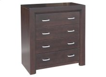 Contempo 4 Drawer Hiboy Chest