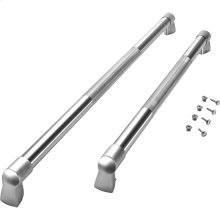 French Door Bottom-Mount Refrigerator Pro Style Handle Kit