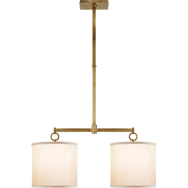 Bbl5035sbs in soft brass by visual comfort in bowling green ky visual comfort bbl5035sb s barbara barry french cuff 2 light 34 inch soft brass linear hidden aloadofball Images