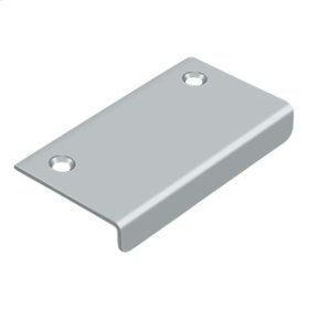 "Drawer, Cabinet, Mirror Pull, 3""x 1-1/2"" - Brushed Chrome"