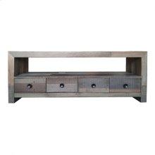 Vintage Tv Table Grey