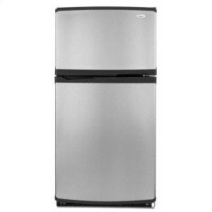 WhirlpoolSatina Stainless Look 21.8 cu. ft. Top Mount Refrigerator