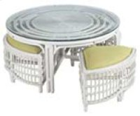 CB-2 Whitewash Wicker/Rattan Product Image