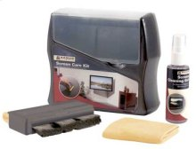 Screen Cleaning Kit for TVs & Monitors - Black