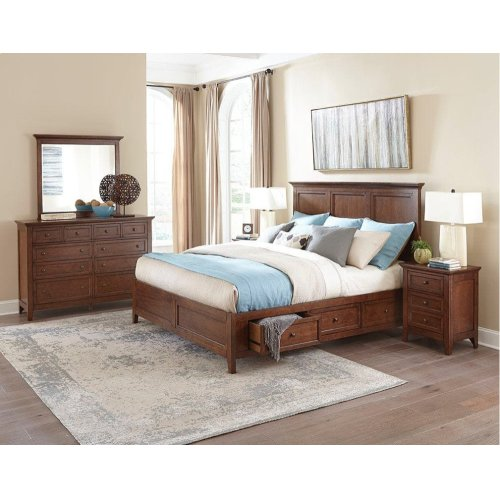 San Mateo Three Drawer Nightstand