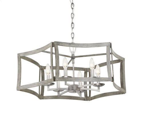 Brookline 6 Light Pendant