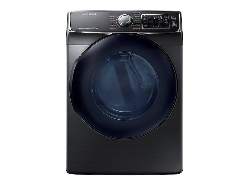 Samsung7.5 Cu. Ft. Gas Dryer In Black Stainless Steel