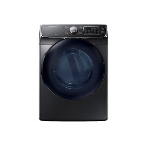 Samsung 7.5 Cu. Ft. Gas Dryer In Black Stainless Steel