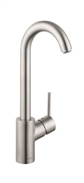 Stainless Steel Finish Bar Faucet, 1.5 GPM