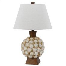 150W Seashell Resin Table Lamp