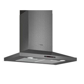 "800 Series 30"" Pyramid Canopy Chimney Hood, 600 CFM HCP80641UC Black Stainless Steel"