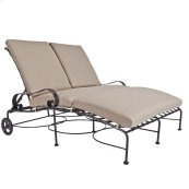 Adjustable Double Chaise