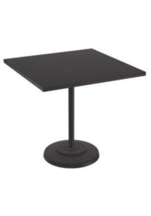 "Ion 42"" Square KD Pedestal Bar Table"
