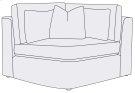 Como Corner Chair Product Image