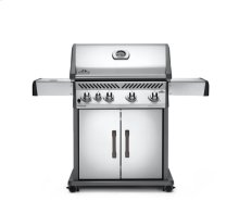 Rogue® 525 Natural Gas Grill with Range Side Burner, Stainless Steel