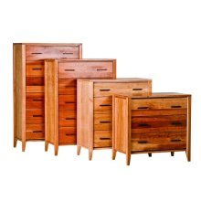 Luna 3-4-5-6 Drawer Chests