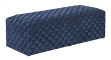 Emerald Home U1108-36-04 Jamison Upholstered Bench, Navy