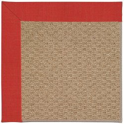 Creative Concepts-Raffia Dupione Crimson Machine Tufted Rugs