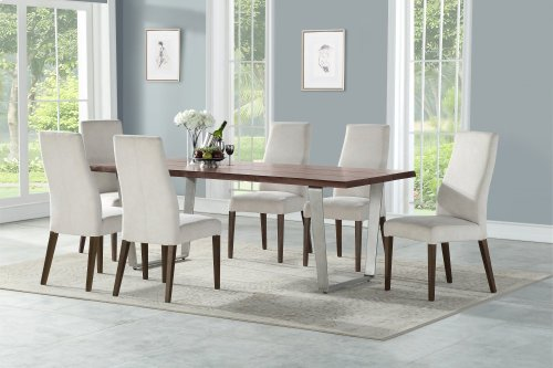 Emerald Home Sommerville Dining Table Mahogany D205-15