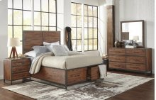Studio 16 King Footboard, Drawers, and Slats