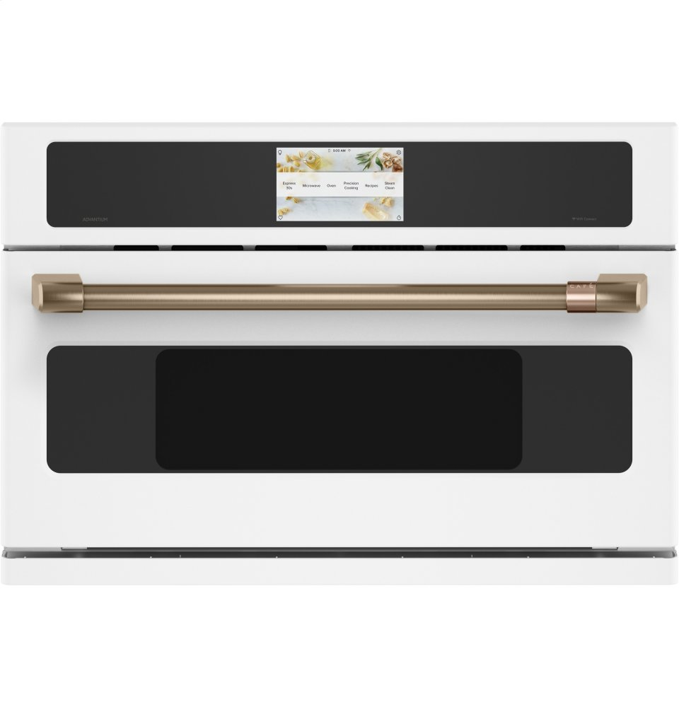"Cafe AppliancesCafe 30"" Smart Five In One Wall Oven With 240v Advantium &Reg; Technology"