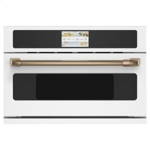 "GECafe 30"" Smart Five in One Oven with 240V Advantium ® Technology"