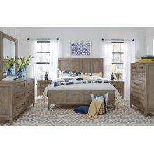Breckenridge Panel Bed, Queen 5/0