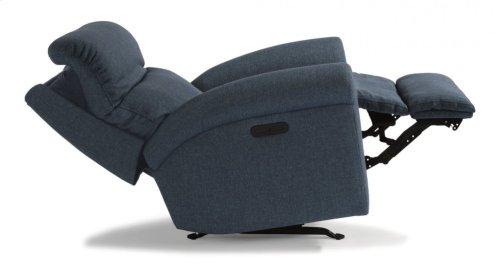 Davis Fabric Power Rocking Recliner with Power Headrest