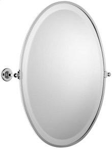 """Antique Gold Framed mirror, 19 11/16"""" H x 14 3/4"""" W"""
