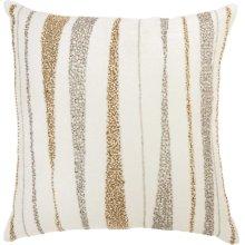 """Luminescence E1057 Ivory 18"""" X 18"""" Throw Pillows"""