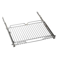 """Telescopic glide shelf kit for 36"""" ranges Chrome"""