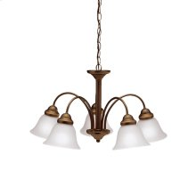 Wynberg Collection Wynberg 5 Light Chandelier - Olde Bronze