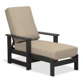 Leeward MGP Cushion Four-Position Lay-flat Chaise