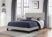 King Delaney Bed In One - Glacier Gray