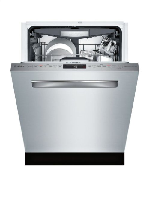 "800 Series 24"" Flush Handle Dishwasher 800 Series- Stainless steel SHP878WD5N"