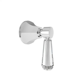 White Diverter/Flow Control Handle
