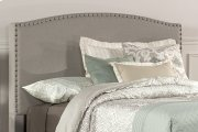 Kerstein Fabric Headboard - Queen - Headboard Frame Not Included - Dove Gray Product Image