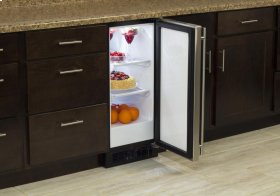 "15"" All Refrigerator (Marvel) - Smooth White Door, Left Hinge"